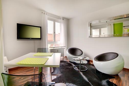 1 pi ce appartement meubl salle de bain avec - Condition pour louer un appartement meuble ...